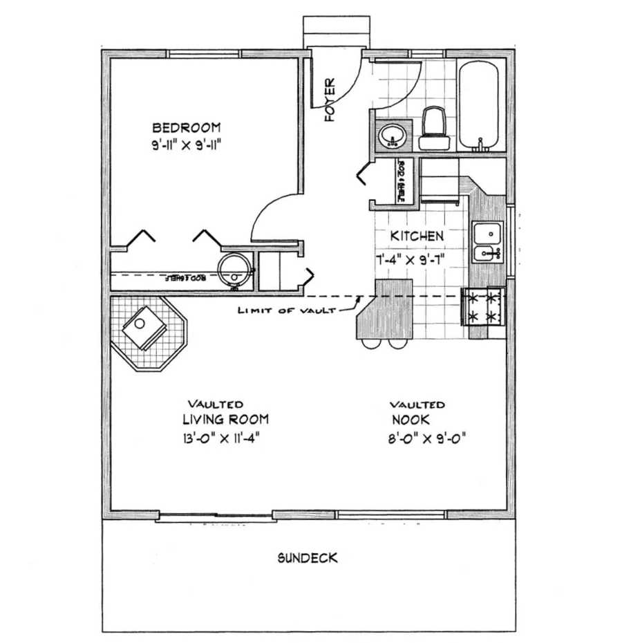 House Plans Under 1000 Square Feet