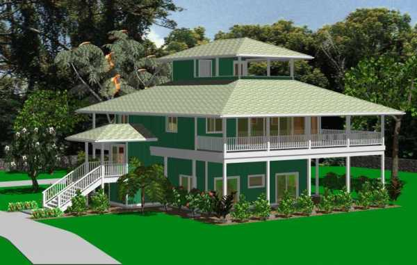 Pacific island tropical houses designs joy studio design for Island style house plans