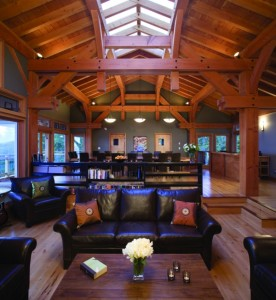 Timber Framing - Pacific Homes