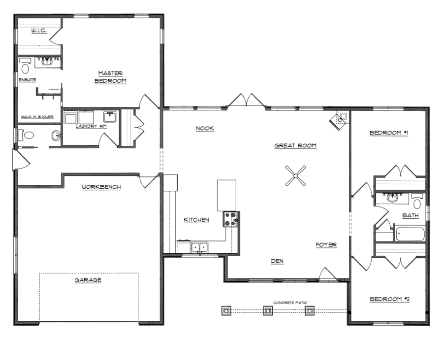 Stunning The Perfect Floor Plan 16 Photos Home Plans