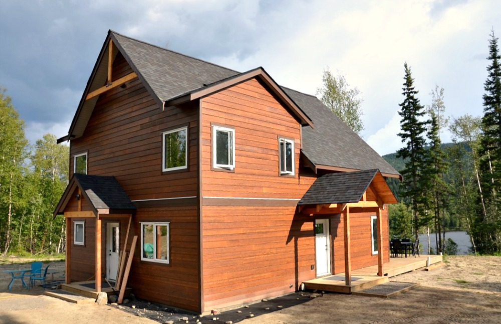 remote energy efficient cottage in northern bc pacific homes