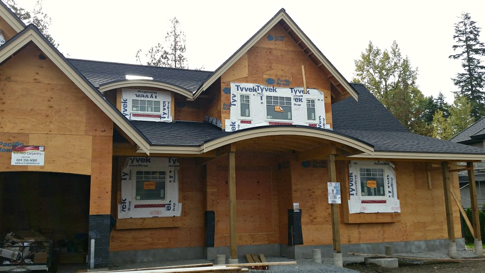 Craftsman style home rising near langley bc pacific homes for Langley home