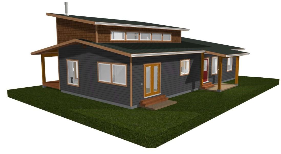 Terrific Energy Efficient Westcoast Contemporary Prefab Cottage Home Remodeling Inspirations Genioncuboardxyz