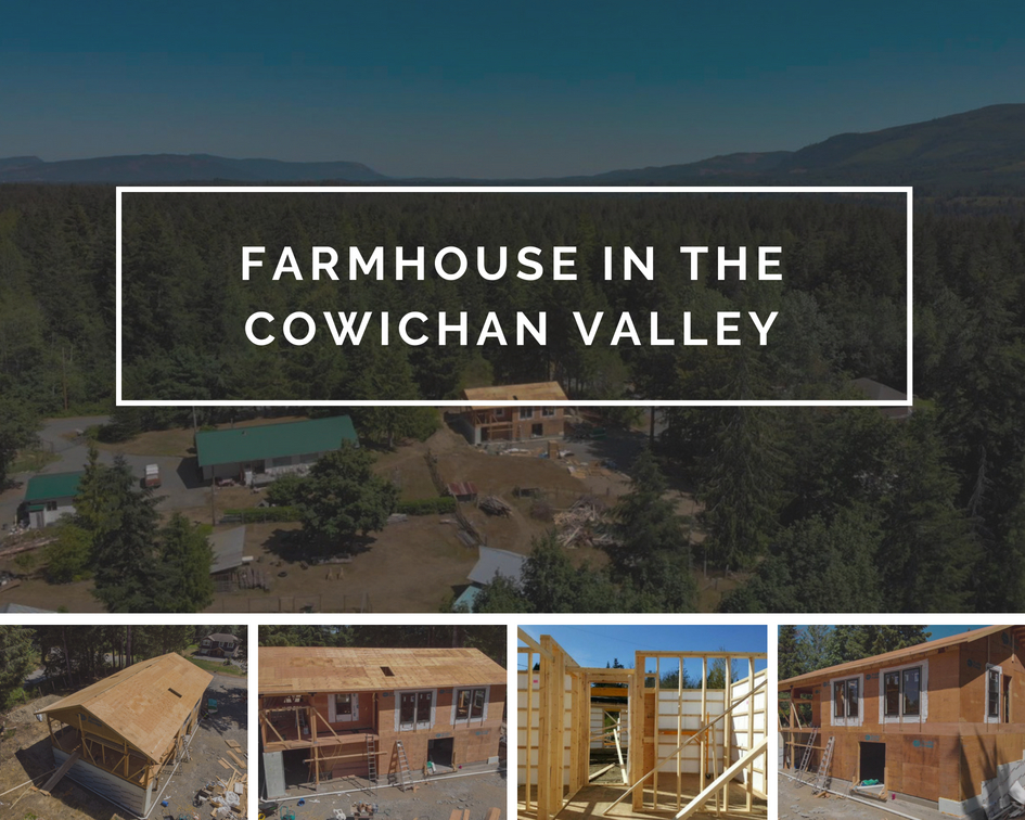 Farmhouse in the Cowichan Valley Collage