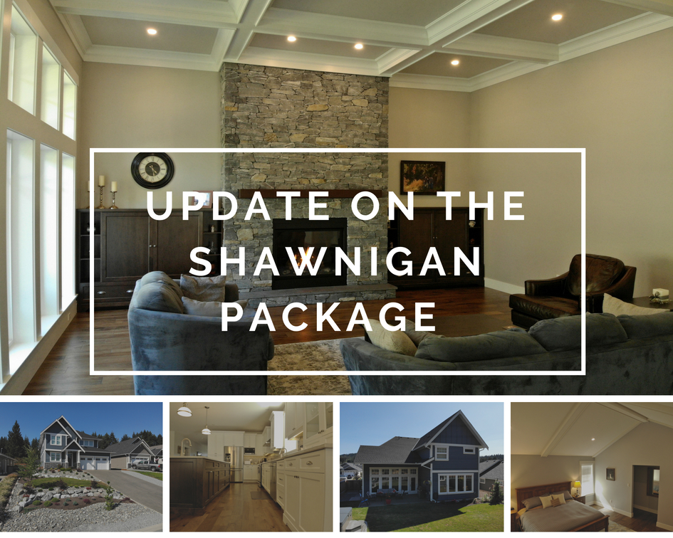 Collage of pictures of the Shawnigan Package