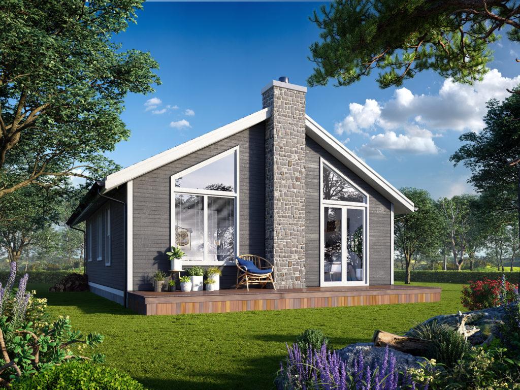 Lake Cottage Plan