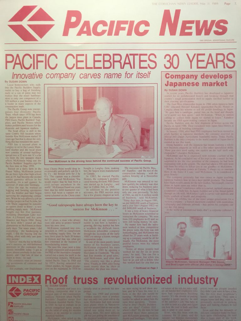 Innovation - 30th anniversary newspaper