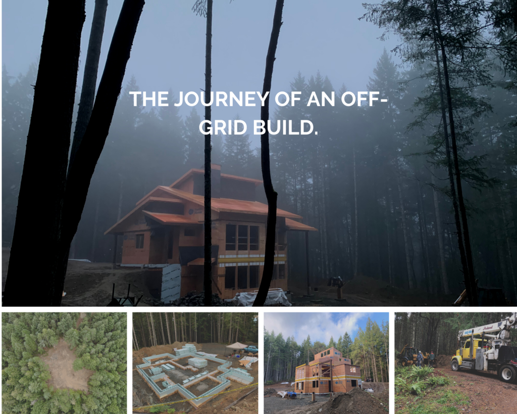 Journey of and off-grid build