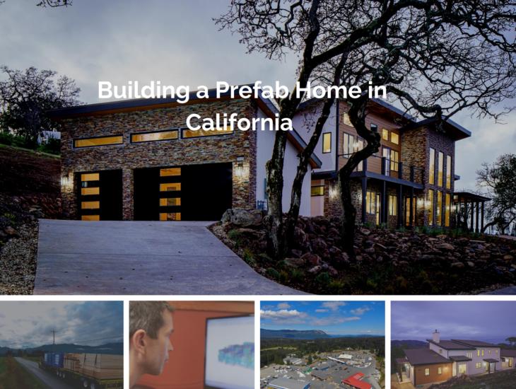 Prefab Home in California