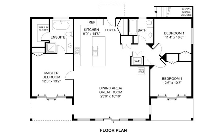 Cascade Floor Plan