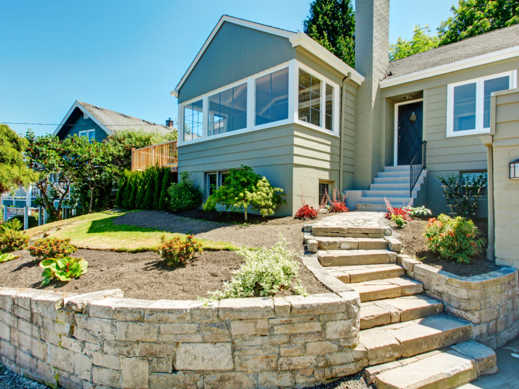 Landscaping with Rock Walls